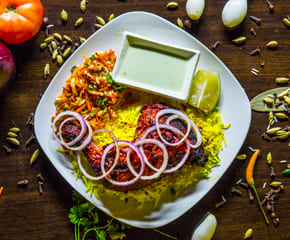 Chicken Tangri with Rice
